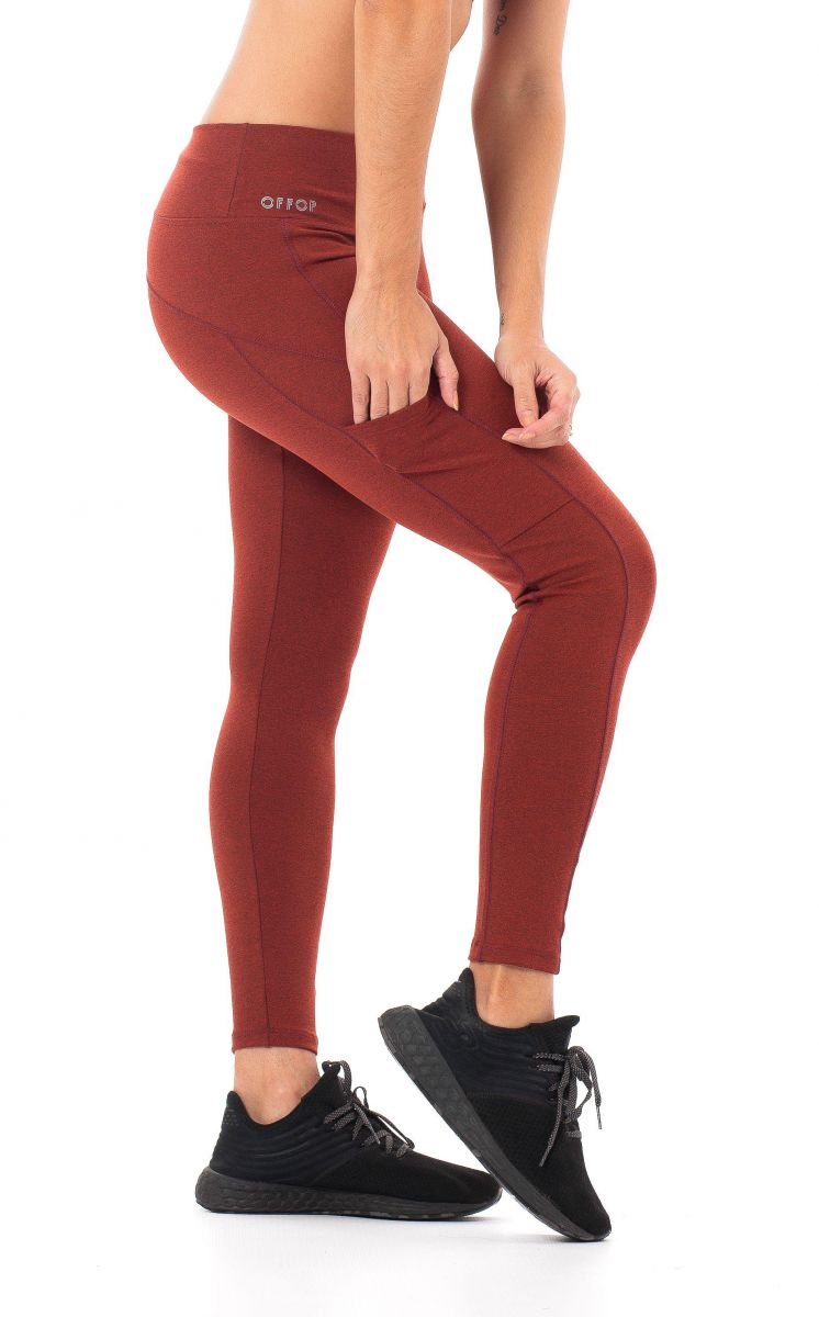 Legging Double Red