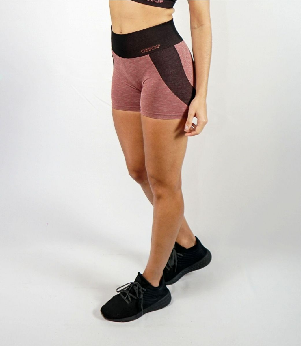 Shorts Curto Rose Compression Seamless®