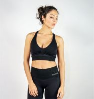 Top Preto Compression Seamless®